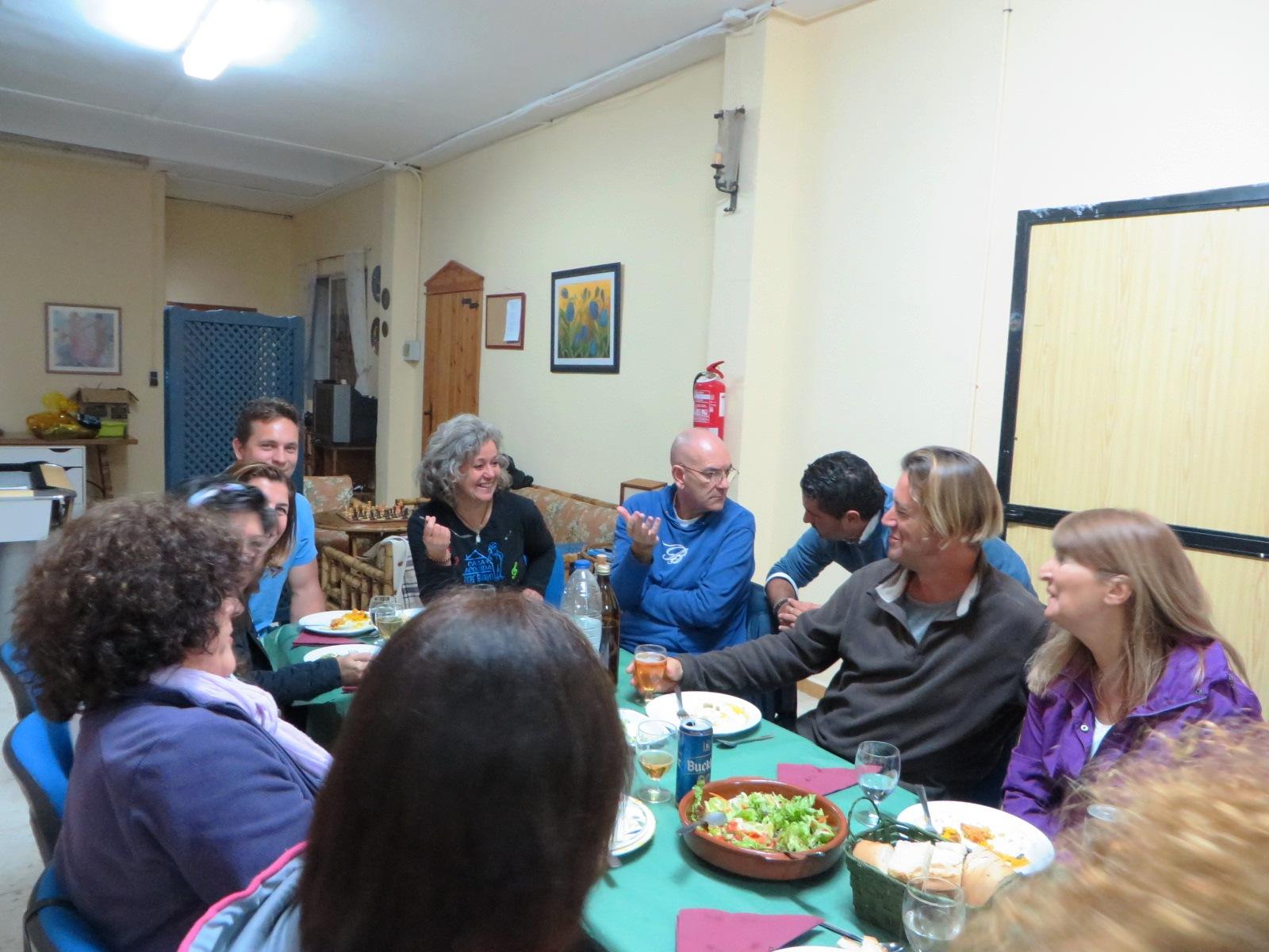 Crónica de un encuentro familiar en Alozaina