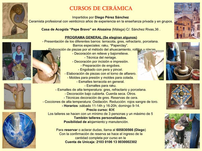 curso ceramica
